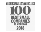 Sunday Times 100 Best Small Companies to Work for 2016