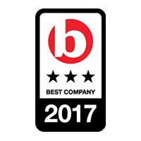 best companies 3 star 2017 logo