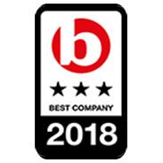 Best Company 3 stars extraordinary 20187 logo