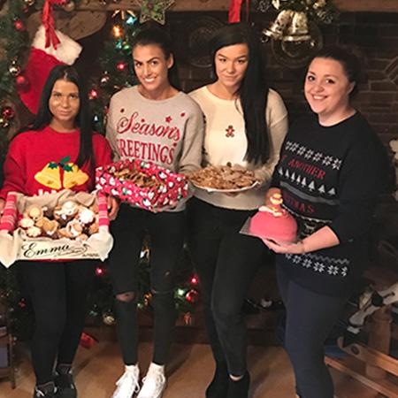 cakes, christmas, fire, molly dawson, leah jameson