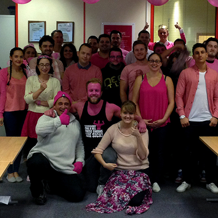 pink people, team