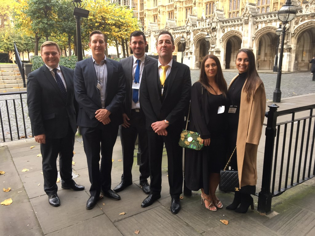 Whitehall Resources Parliament visit
