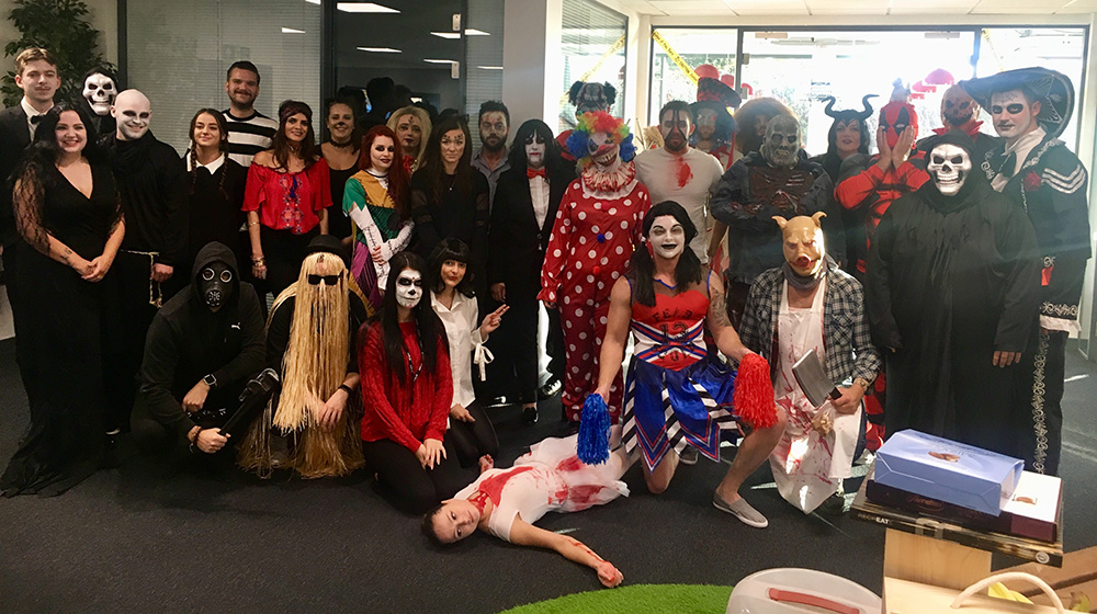 Whitehall Resources halloween 'Ghoulfest'
