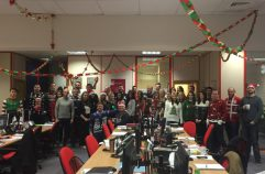 Whitehall Resources Christmas Jumper Day 2015!