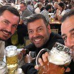 Ricky Knight, Neil Mansfiel, Tremayne Hall, Beer festival