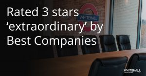 Whitehall Resources receive 3 Star award from Best Companies