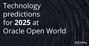 Technology predictions for 2025 at Oracle Open World
