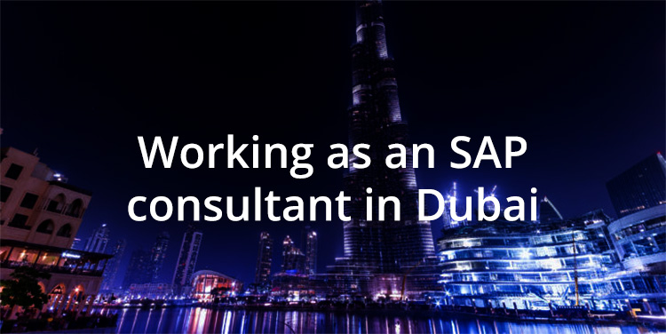 Working as an SAP consultant in Dubai - Whitehall Resources