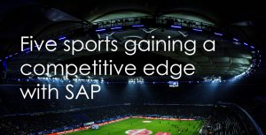 Five sports gaining a competitive edge with SAP