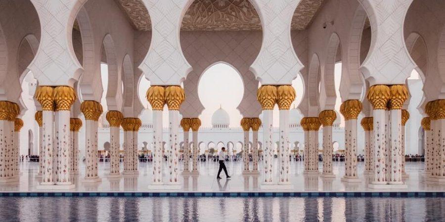 Abu Dhabi mosque
