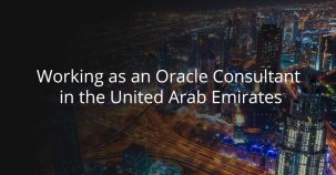 Working as an Oracle consultant in the United Arab Emirates