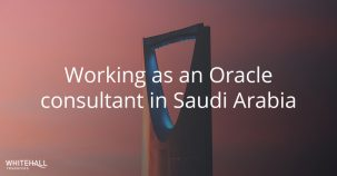 Working as an Oracle consultant in Saudi Arabia