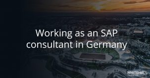 Working as an SAP consultant in Germany