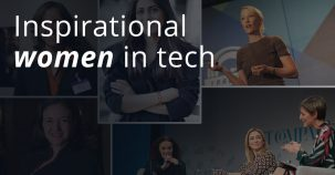 Inspirational women in tech