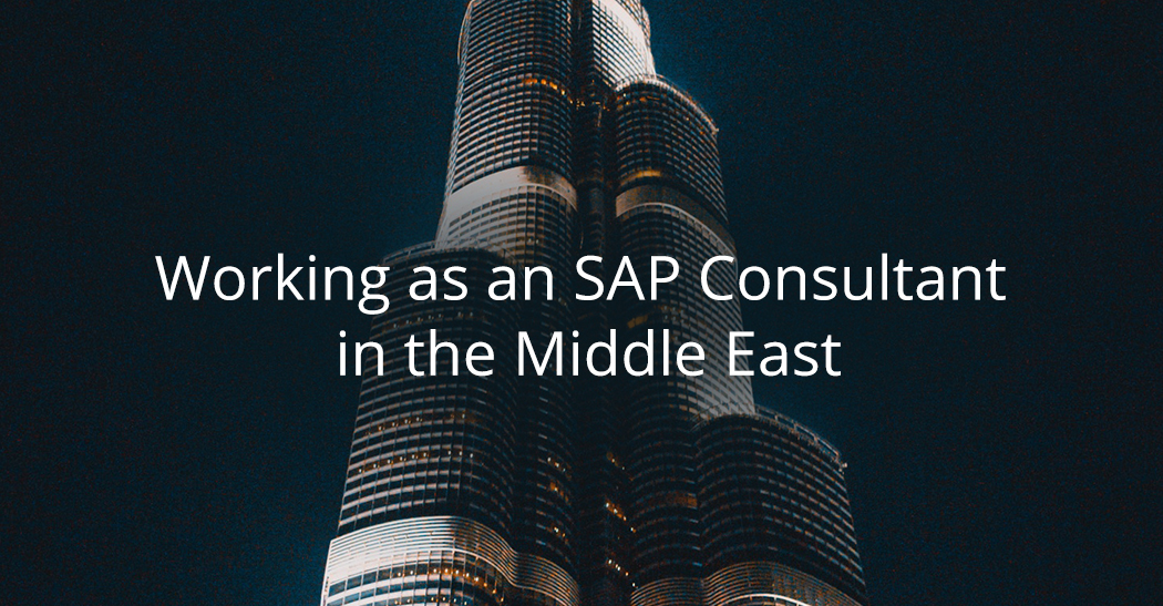 Working as an SAP consultant in the Middle East - Whitehall Resources