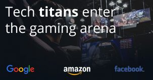 Tech titans enter the gaming arena