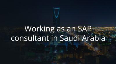 SAP Saudi one