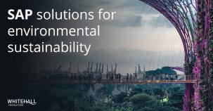 SAP solutions for environmental sustainability