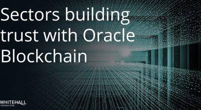 Sectors building trust with Oracle Blockchain (002)