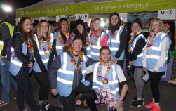 Fundraising Midnight Walk for St Helena