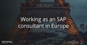 Working as an SAP consultant in Europe