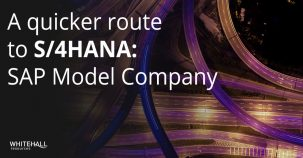 A quicker route to S/4HANA: SAP Model Company