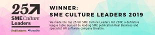 Whitehall listed in the UK's Top 25 SME Culture Leaders