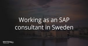 Working as an SAP consultant in Sweden