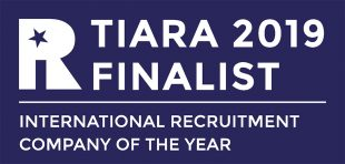 Shortlisted for International Recruitment Company of the Year
