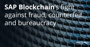 SAP Blockchain's fight against fraud, counterfeit and bureaucracy
