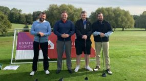 Whitehall Team at St Helena's Corporate Golf Day