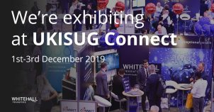 Exhibiting at UKISUG Connect 2019
