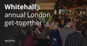 Whitehall's annual London get-together