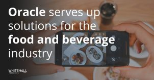 Oracle serves up solutions for the food and beverage industry
