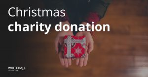 Our Christmas charity donation