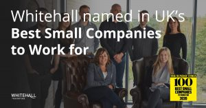 Whitehall ranks in 'Best Small Companies to Work for 2020'
