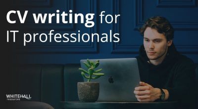 CV writing for IT professionals
