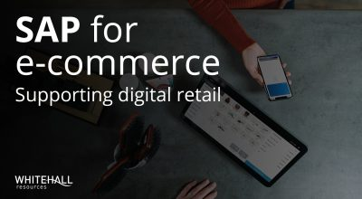 SAP e-commerce header