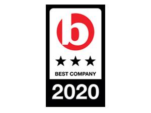 Best Companies, 3 Stars, 2017-2020