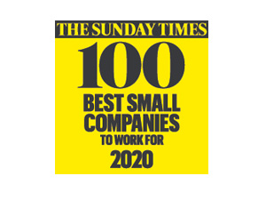 The Sunday Times 100 Best Companies To Work For, 2017- 2020