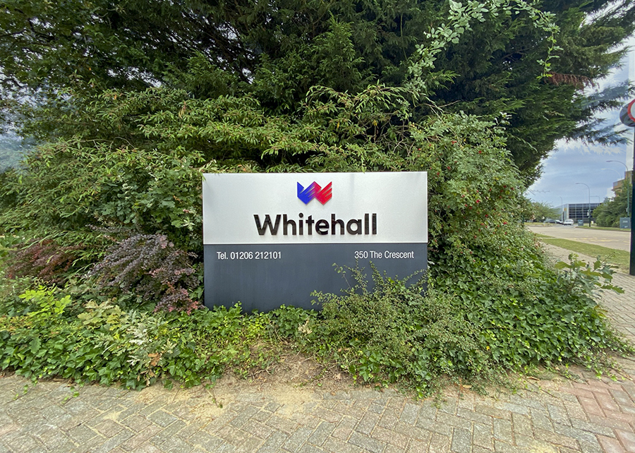 Whitehall resources Signage